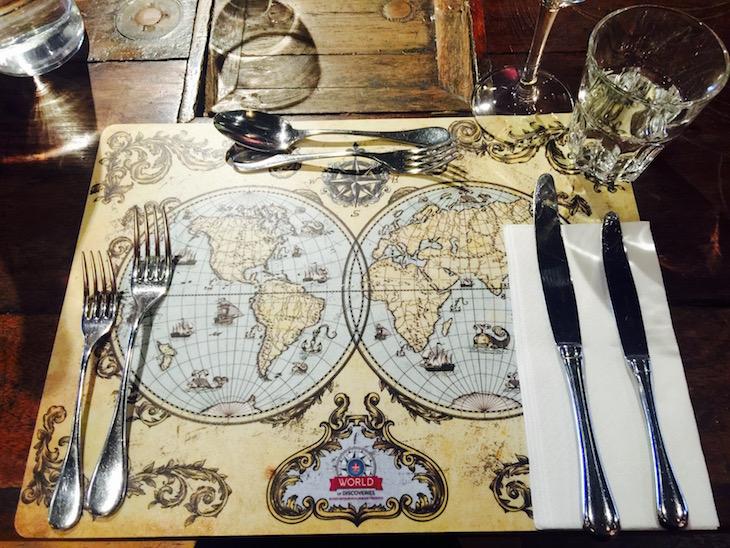 Restaurante Mundo de Sabores, no World od Discoveries © Viaje Comigo