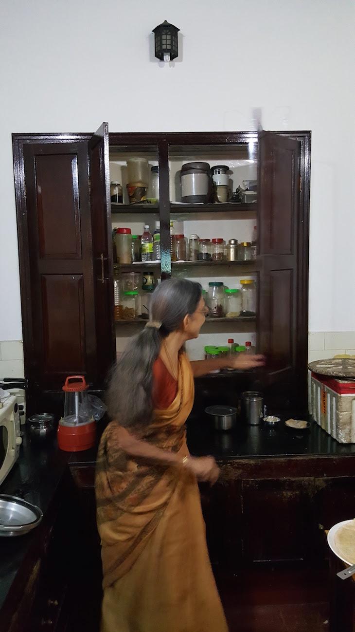Armário antigo, Pranavam Homestays, Kerala © Viaje Comigo