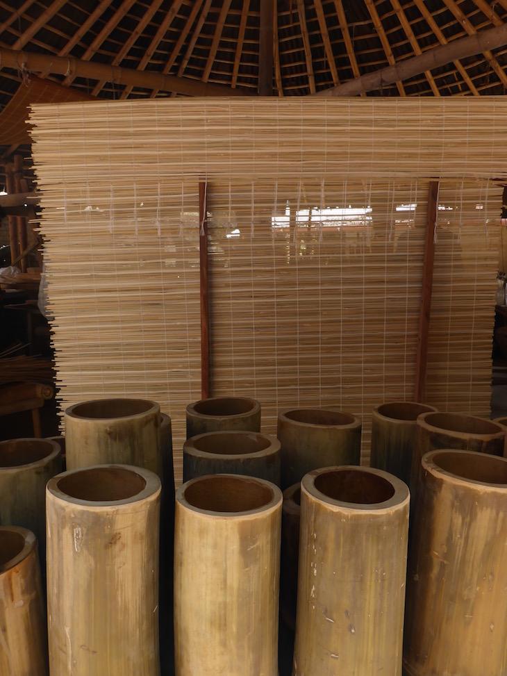 Bambu e persianas, na Uravu, Thrikkaipetta, Wayanad, Kerala © Viaje Comigo