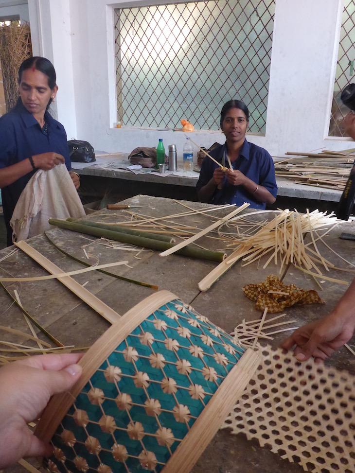 Candeeiro em Bambu, Uravu, Thrikkaipetta, Wayanad, Kerala © Viaje Comigo