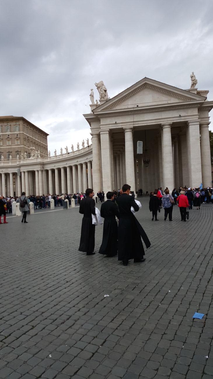 Padres no Vaticano © Viaje Comigo