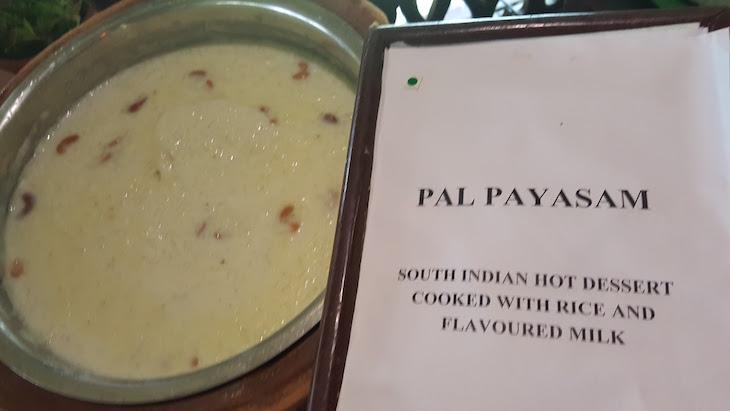 Pal Payasam, comida Kerala © Viaje Comigo