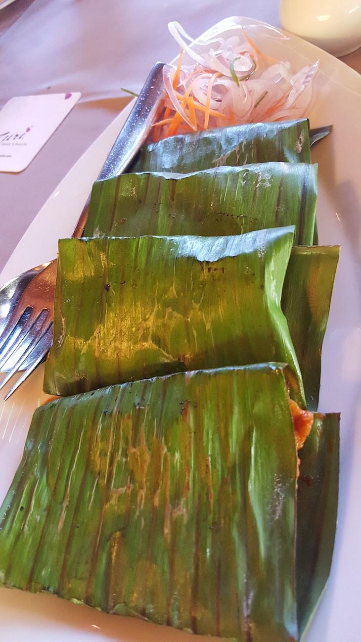 Peixe em folha, Kerala © Viaje Comigo
