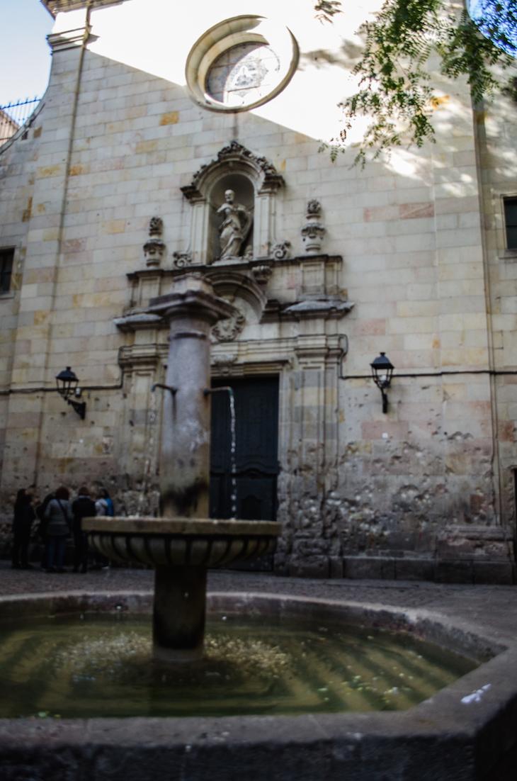 Plaza Sant Filip Neri © De Café por Barcelona