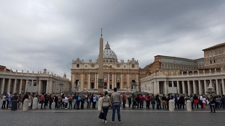 Praça de São Pedro, Vaticano © Viaje Comigo