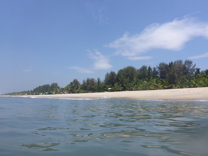 Praia Marari, Kerala © Viaje Comigo