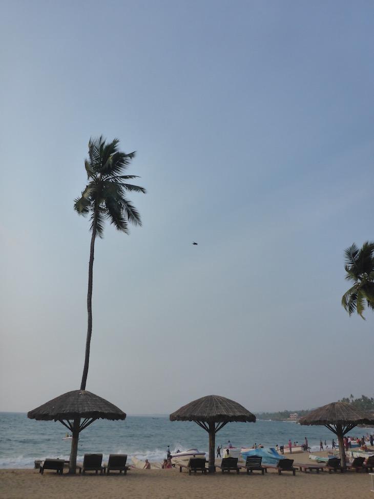 Praia de Kovalam em Kerala, India © Viaje Comigo
