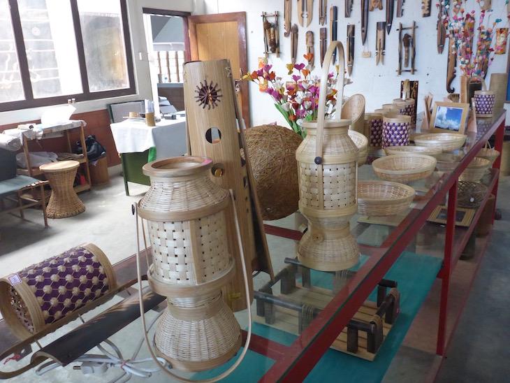 Produtos em Bambu, Uravu, Thrikkaipetta, Wayanad, Kerala © Viaje Comigo