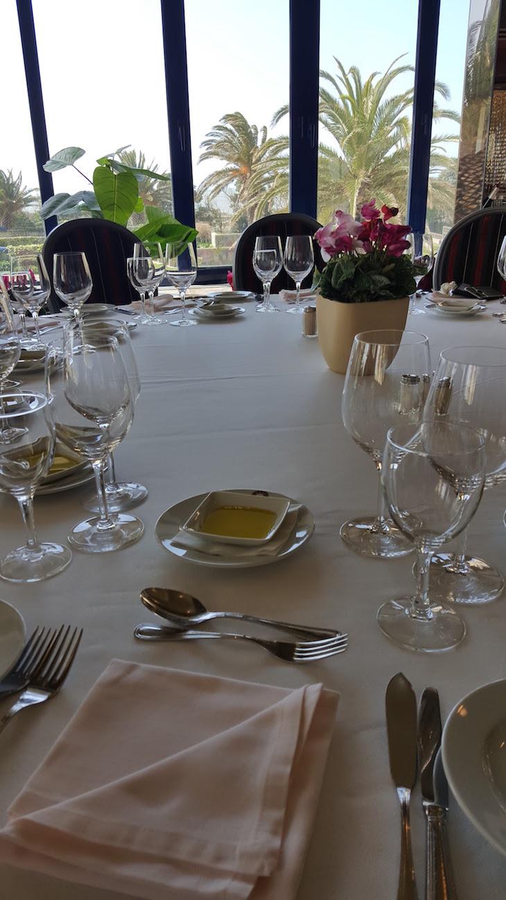 Restaurante Jardim, Hotel Solverde © Viaje Comigo