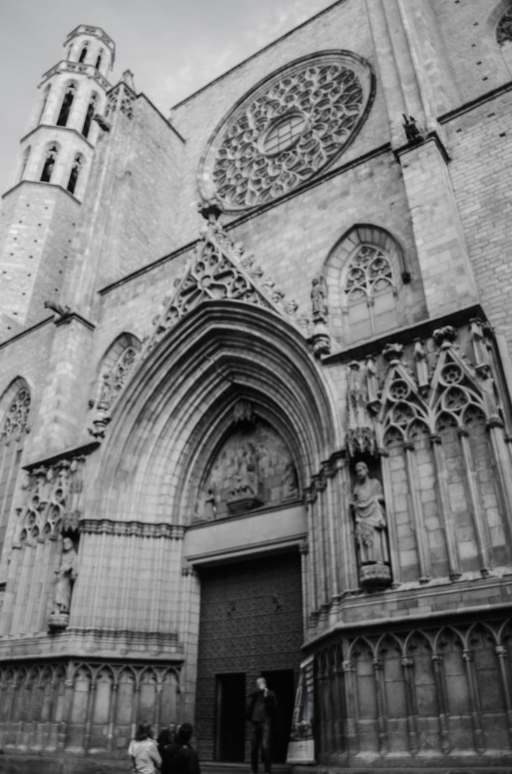 Santa María del Mar ©De Café por Barcelona