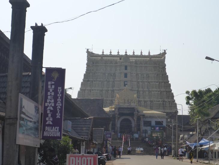 Templo Sree Padmanabhaswamy, Trivandrum, Kerala, India © Viaje Comigo