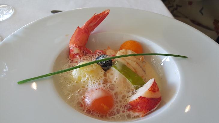 Cozido de peixe, no Hotel Solverde © Viaje Comigo