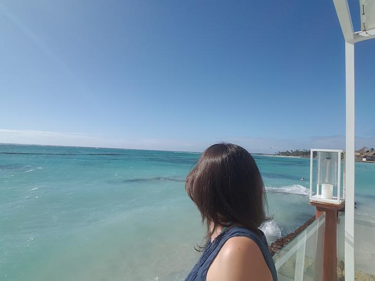 Tirada com selfie stick - A ver o mar © Viaje Comigo