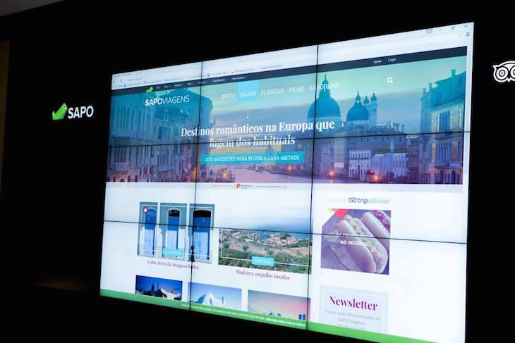 Apresentação do site Sapo Viagens © DR Portugal Telecom : Sapo
