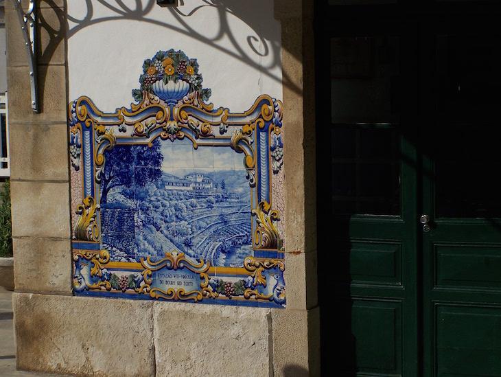 Azulejos da Estação Pinhão, Douro ©Viaje Comigo