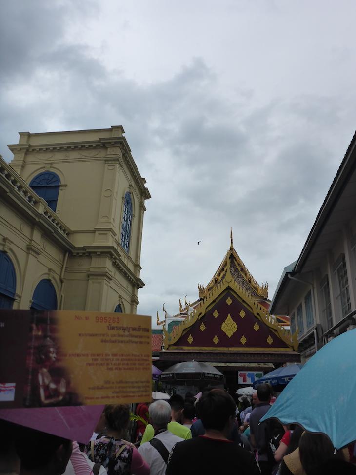 Bilhete de entrada - Grande Palácio Real Banguecoque Tailândia © Viaje Comigo