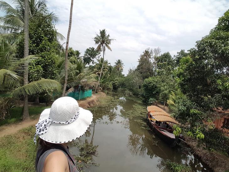 Canais em Kumarakom, Kerala © Viaje Comigo
