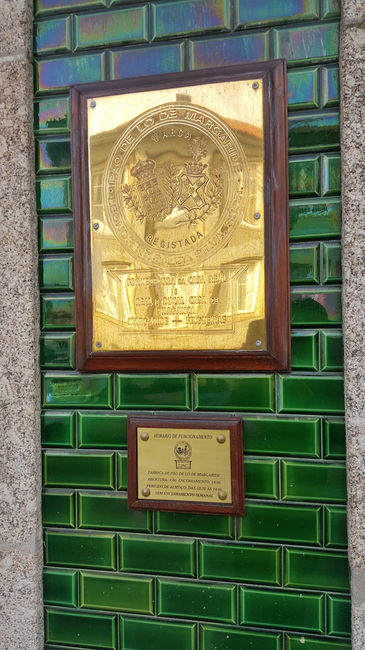 Entrada da Fábrica de Pão de Ló de Margaride, Felgueiras © Viaje Comigo