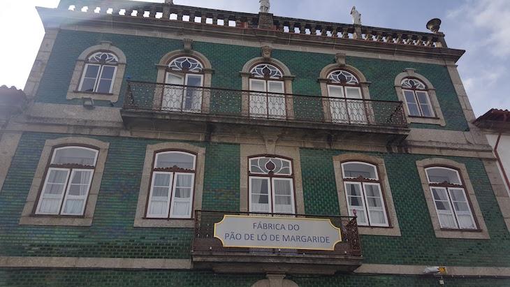 Fachada da Fábrica de Pão de Ló de Margaride, Felgueiras © Viaje Comigo