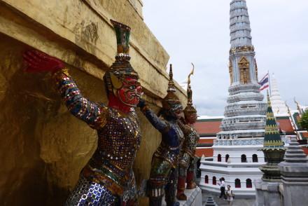 Grande Palácio Real Banguecoque Tailândia © Viaje Comigo