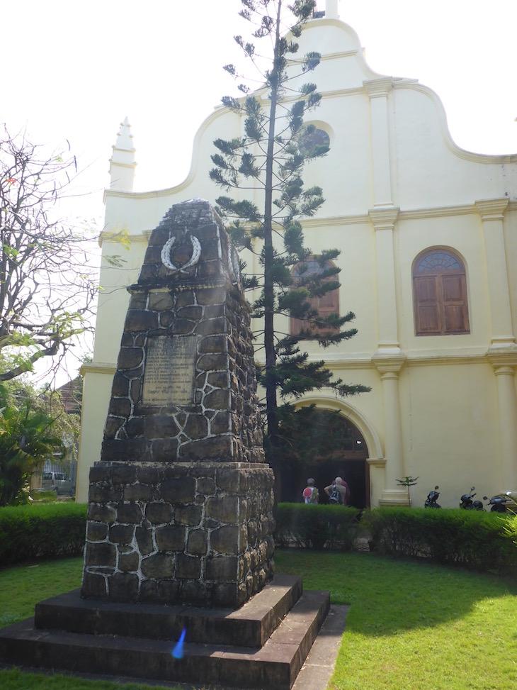 Igreja de S. Francisco, Cochim, Kerala, India © Viaje Comigo