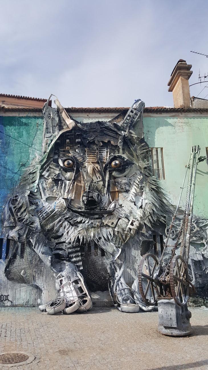 Lobo de Bordalo Segundo no Fundão © Viaje Comigo