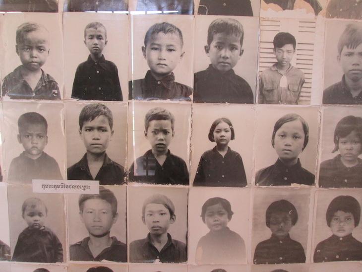 Museu Tuol Sleng, Cambodja - Foto Andreia Palmeirim