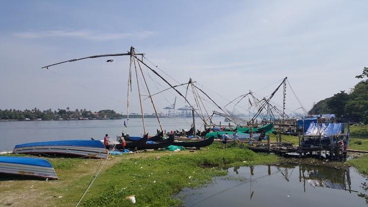 Porto de Cochim, Kerala, India © Viaje Comigo