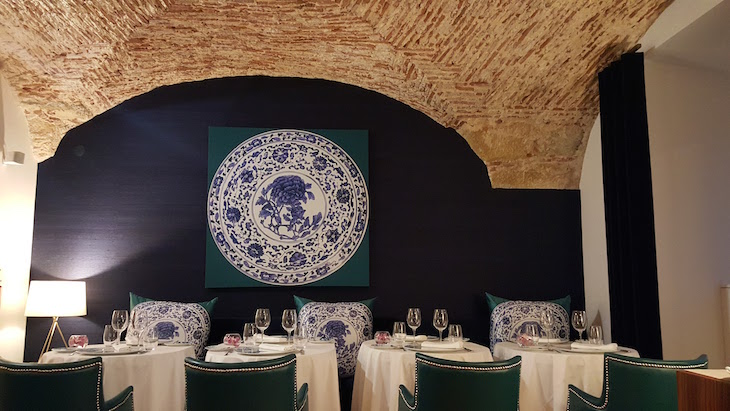Restaurante Ânfora do Palácio do Governador, Lisboa © Viaje Comigo