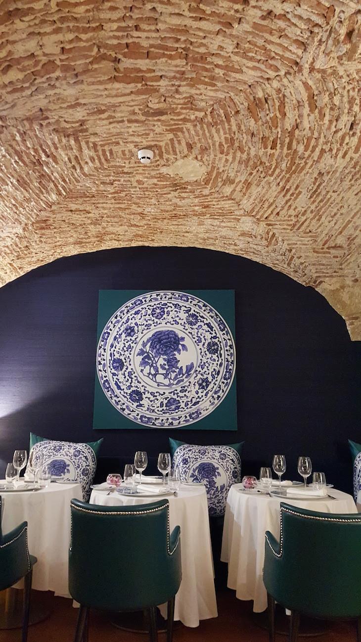 Restaurante Ânfora no Palácio do Governador, Lisboa © Viaje Comigo