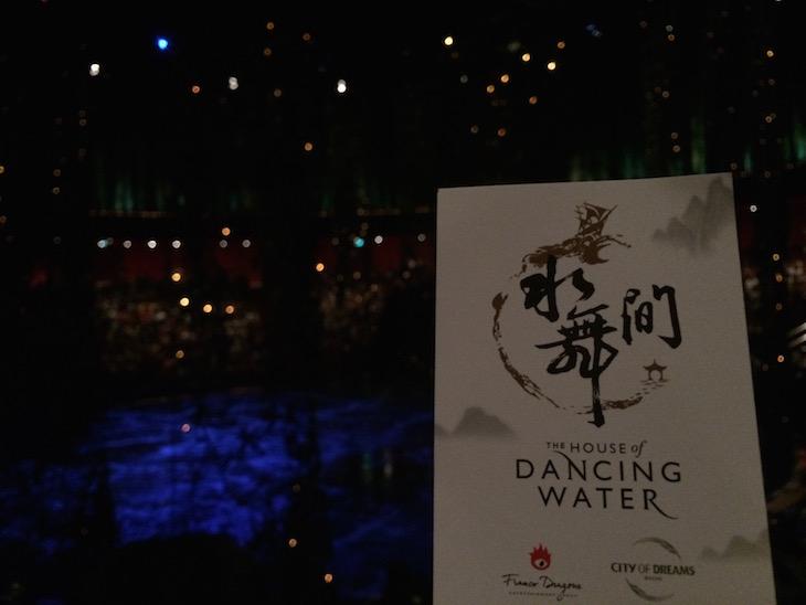 Viaje Comigo no The House of Dancing Water, Macau © Viaje Comigo