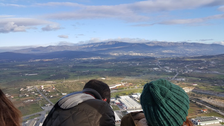 Vista para a Serra da Estrela no balão -Fundão © Viaje Comigo