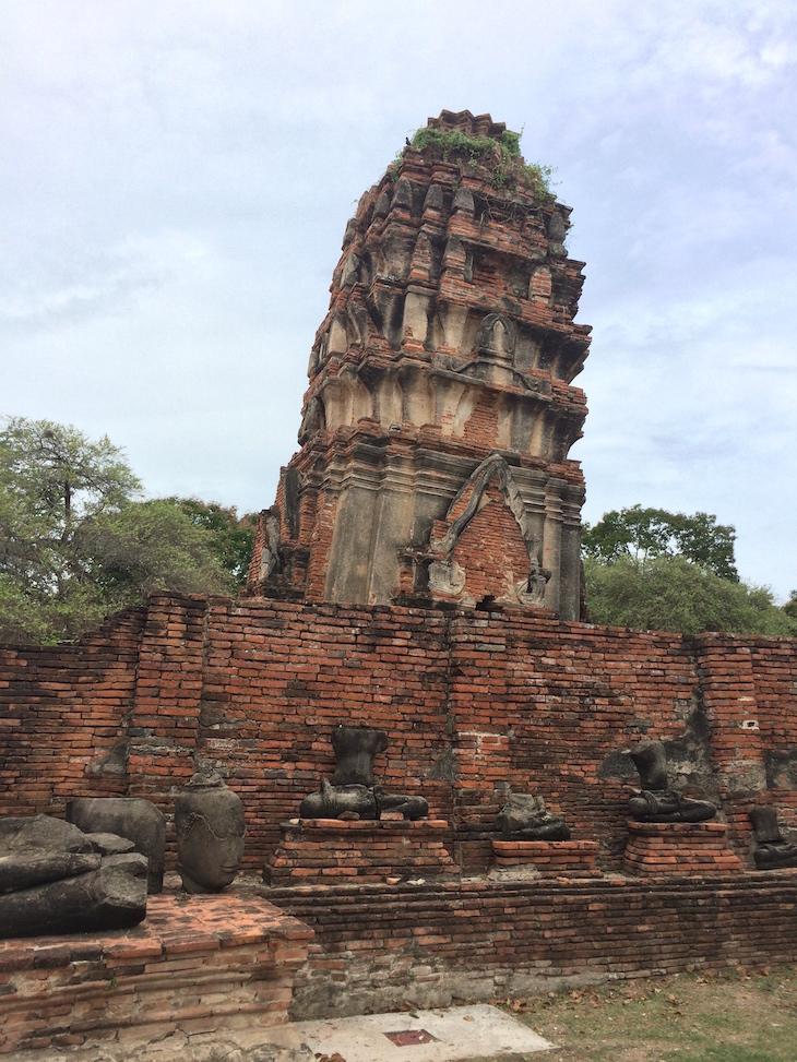 Wat Maha That, Ayutthaya, Tailândia © Viaje Comigo