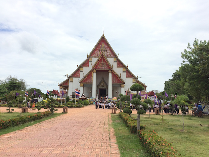 Wat Mongkhon Bophit, Ayutthaya, Tailândia © Viaje Comigo