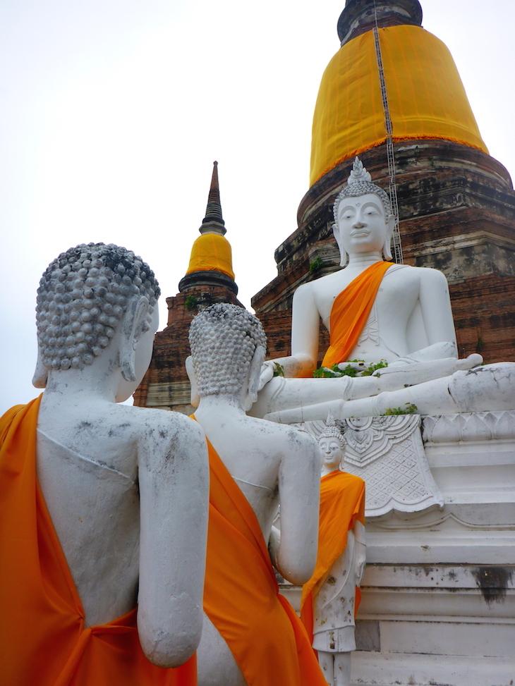Wat Yai Chai Mongkhon, Ayutthaya, Tailândia © Viaje Comigo
