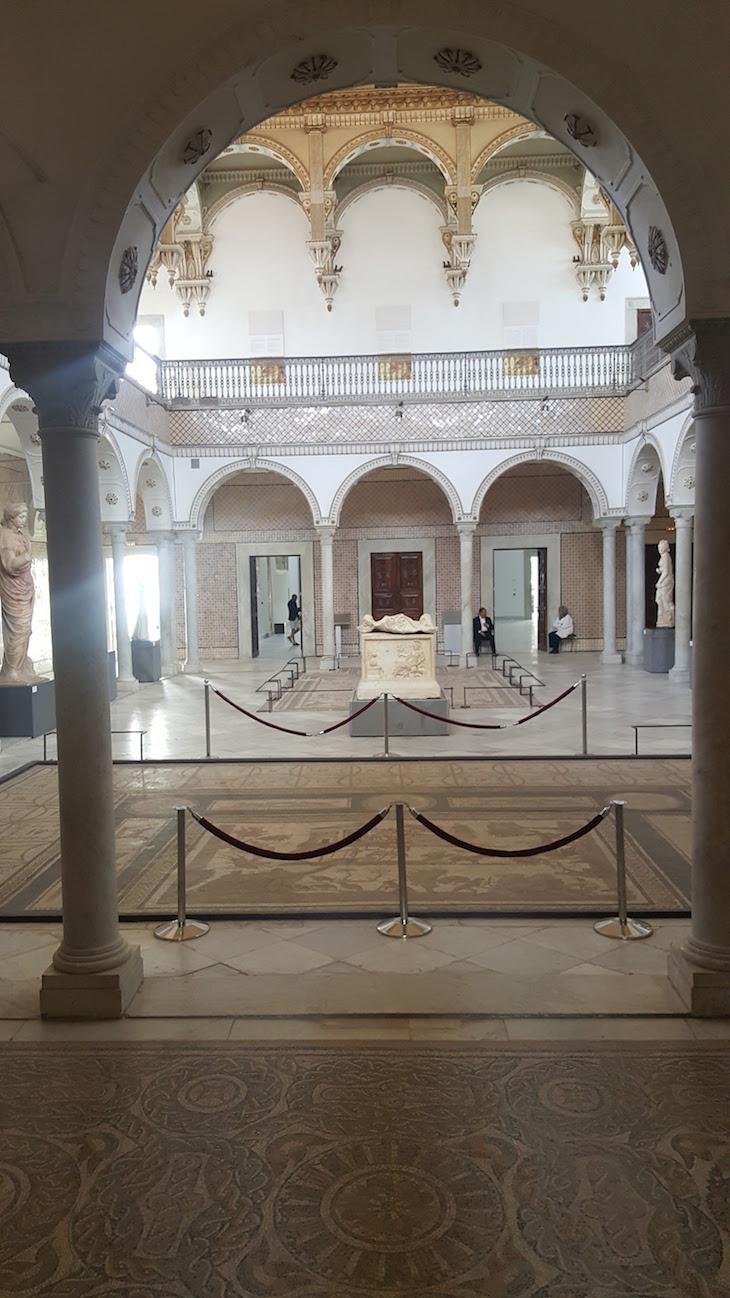 Átrio no Museu do Bardo, Tunísia © Viaje Comigo