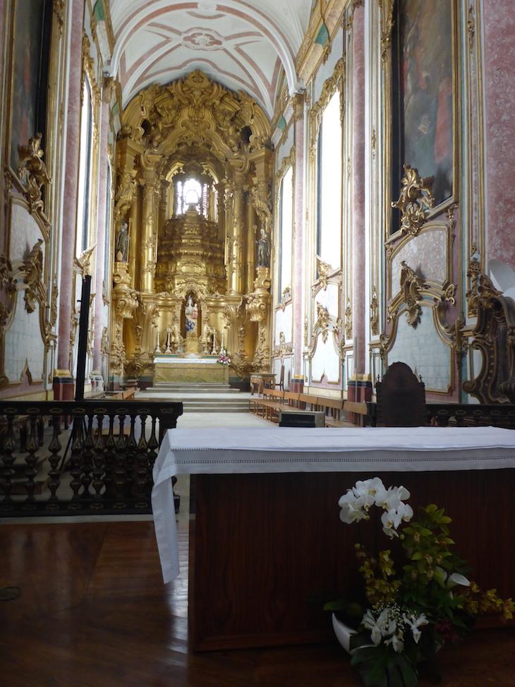Altar do Mosteiro de Pombeiro, Felgueiras © Viaje Comigo