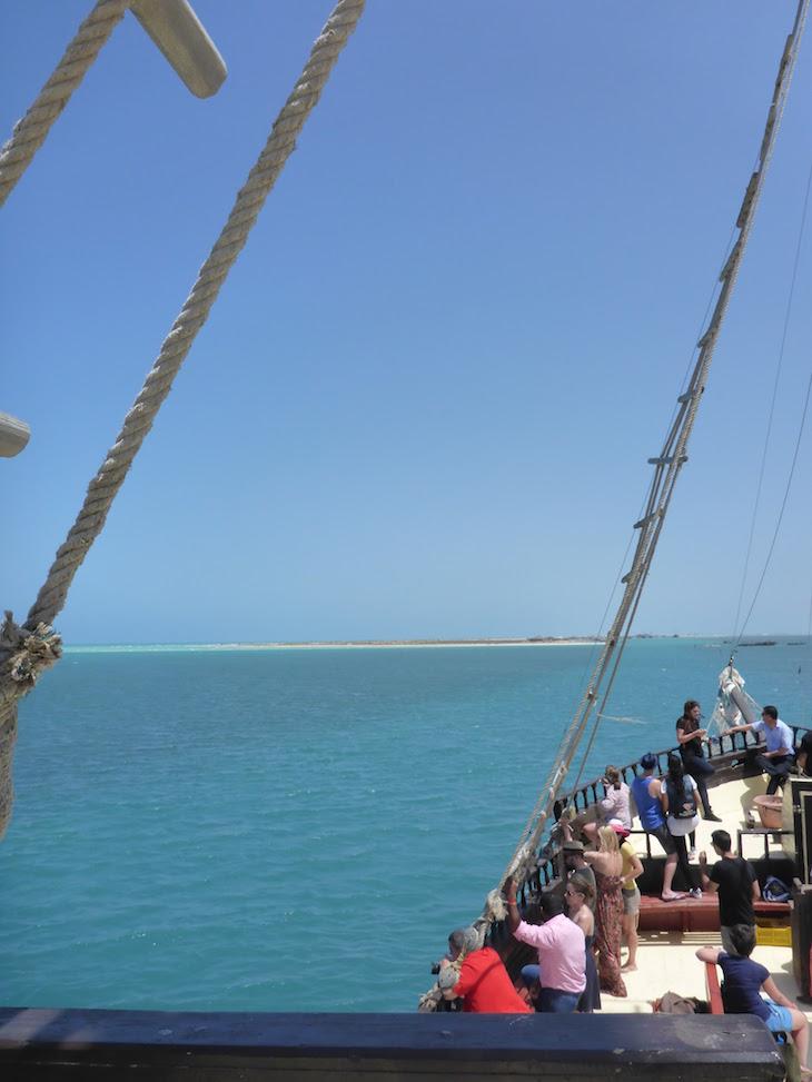 A chegar a Ras R'Mal - Ilha dos Flamingos, Djerba, Tunísia © Viaje Comigo
