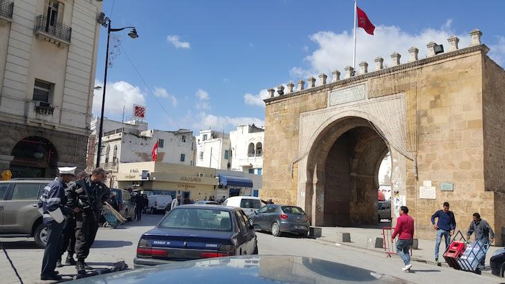 Bab el Bahr, Tunes, Tunísia © Viaje Comigo