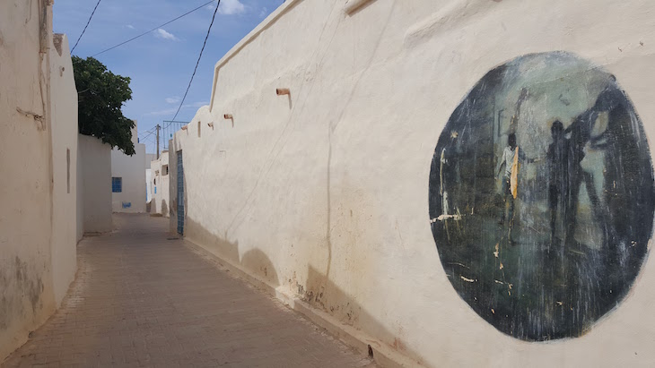 Artista: Axel Void - Espanha-EUA, Djerbahood, Erriadh, Djerba, Tunisia © Viaje Comigo