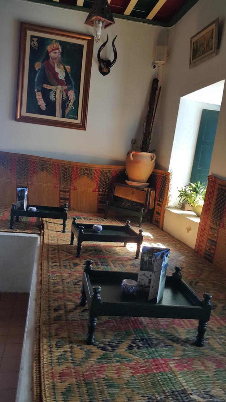 Sala do Café des Nattes, Sidi Bou Said, Tunísia © Viaje Comigo