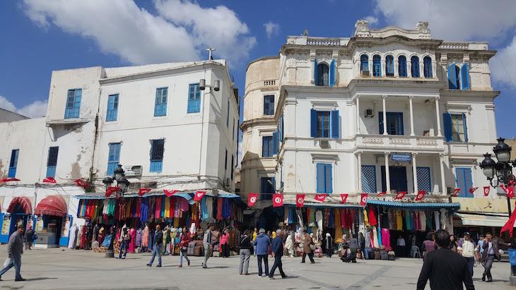Centro de Tunes, Tunísia © Viaje Comigo