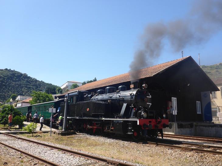 Comboio Histórico do Douro, no Pinhão @ Viaje Comigo