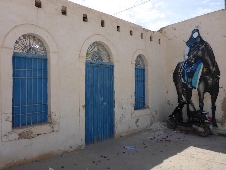 Djerbahood, Erriadh, Djerba, Tunisia © Viaje Comigo