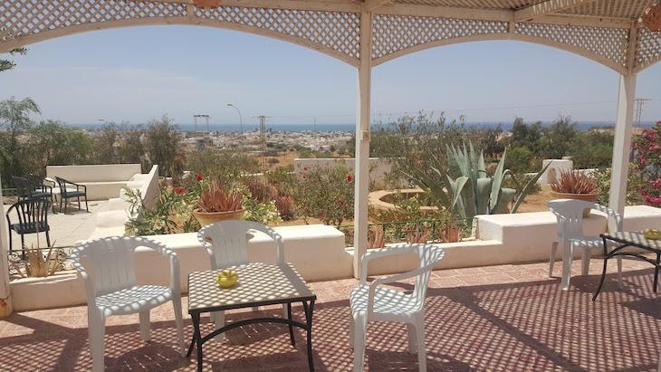 Esplanada do Museu de Guellala, Djerba, Tunísia © Viaje Comigo