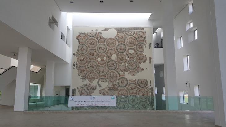 Hall de entrada do Museu do Bardo Tunísia © Viaje Comigo