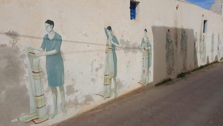 Artista: Hyuro - Espanha, Djerbahood, Erriadh, Djerba, Tunisia © Viaje Comigo