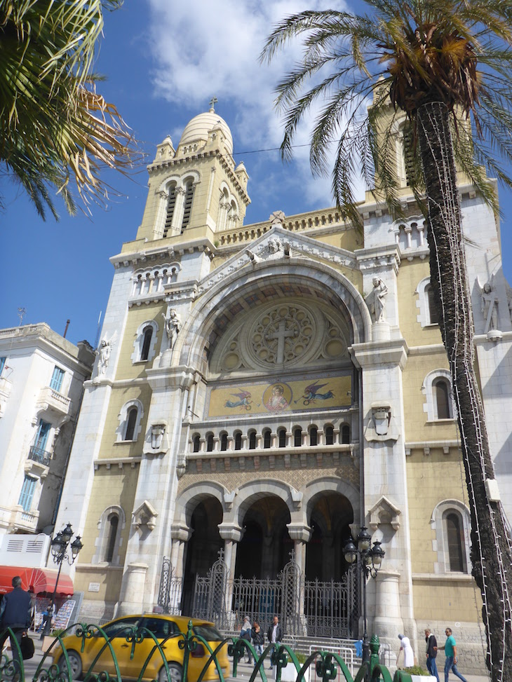 Catedral de Tunes, Tunísia © Viaje Comigo
