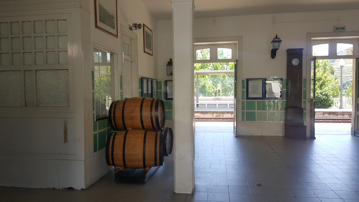 Interior da Estação do Pinhão © Viaje Comigo