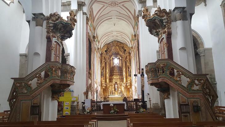 Interior do Mosteiro de Pombeiro, Felgueiras © Viaje Comigo